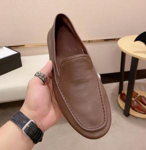 gucci shoes do desenhador marca novos sapatos de desporto ao ar livre dos homens de couro importados completos de casamento confortáveis sapatos preto e branco de condução