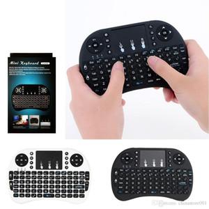 에어 마우스 미니 TV BOX X96 A95X MXQ 프로를위한 무선 키보드 멀티미디어 원격 제어 터치 패드 핸드 헬드 키보드 RII 플라이 I8 최저