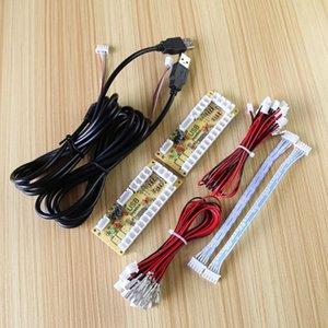 2X Zero Delay Arcade ENCODER USB PC TO manche para 5PIN JOYSTICK 2.8MM BUTTON