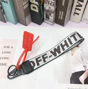2020 off canvas мобильный телефон брелок Европейский и американский бренд tide джинсы с наручной камерой кулон белый пояс 3,5*25 см