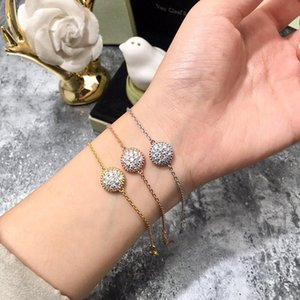 2019 New New Fashion Cubic Zircon Round Bracelet for Woman Designer Fashion Brand Designer Jewelry for Women
