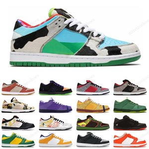 2020 Nike SB Dunk Low Chicago Chunky Dunky Low Dunk Brazil Panda Pigeon Herren-Outdoor-Trainer-Sportschuhe