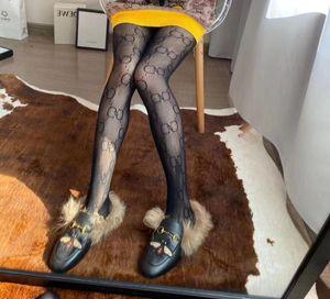 Com caixa de varejo carta cheia meias longas Transparente Meias Europa e América Moda Silk Stockings Sexy para mulheres