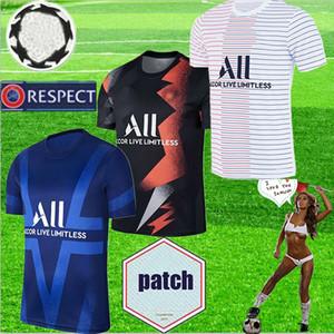 2019 2020 Paris calcio maglia maglia da calcio 19 20 Mbappe Verratti CAVANI PSG Survêtement maillot de foot pre partita di qualità superiore di formazione