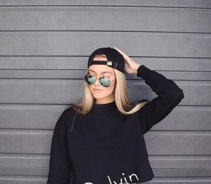 2016 Hoodie Casual T-Shirt Femme Sweat à capuche manches longues femmes T-shirts Filles Tops Sweat Hoodies Vêtements pour femmes