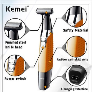 Maquinilla de afeitar eléctrica de una cuchilla para hombre, cara de afeitar eléctrica para recortador de barba masculina, cabeza de afeitar con barba