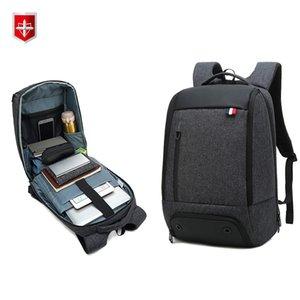 RUISHISABER Многофункциональный водонепроницаемый рюкзак Мужчины 15,6 дюймовый ноутбук рюкзак Мужской Mochila путешествия подростковый рюкзак ранцы