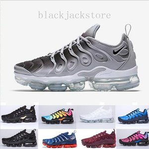 New Arrivals chaussure TN Plus running Shoes tn Men Outdoor Run Shoes Black White Trainers Hiking Sports Athletic Sneakers EUR40-45 JK562
