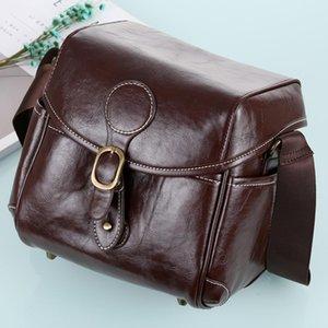 Портативная цифровая камера наплечная сумка мягкая искусственная кожаная сумка с ремешком, размер: 21см х 15см х 20см