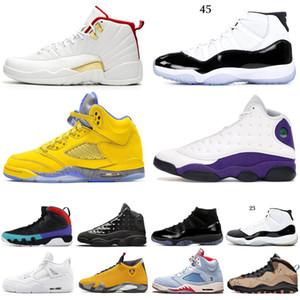 5 SP Michigan 9s 10s MAHKEME PURPLE Fab Bred Man Kadınlar basketbol ayakkabıları 5s 4s Moda 11 12'leri FIBA sneaker mens 13s Eğitmenler