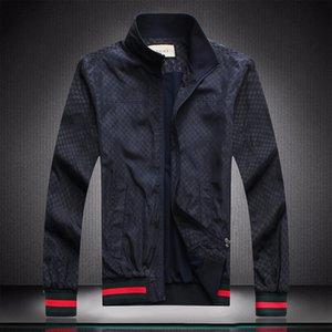 Newly arrived Wintercoat zipper Mens Jacket Fashion Mens Brand Jacket New 20SS Men Windbreaker Winter Coat Outdoor Streetwear With logo