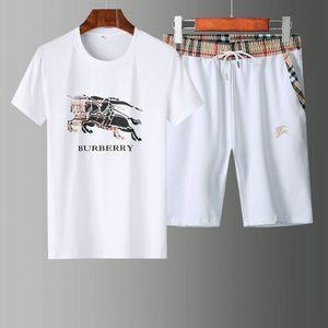 Luxury Women Mens Designer Tracksuits Brand Sweatsuit Track Suit Swimsuit T Shirts+Short Pant O-Neck High Quality Men Tracksuit TZ022
