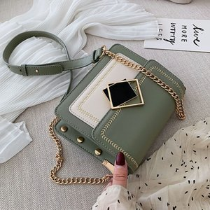 2020 new Rivet Luxury Woman Crossbody Bags 2019 High Quality Brand Women Handbags Chain Female Messenger Bag Shoulder Bag