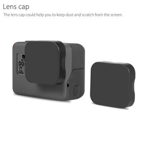 Tempered Glass Protector Cover Case For Go Pro Gopro Hero 5 6 7 Hero5 Hero6 Hero7 Camera Lens Cap LCD Screen Protective Film