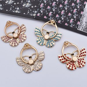Butterfly Universal Finger Ring mounts Mobile Phone Smartphone Stand Holder for IPhone Xiaomi Samsung Smart Phone Stand Phone Holders