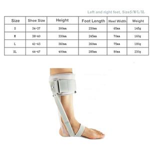 Ortesis de caída del pie FIRECLUB, correa de corrección de correa de ocho caracteres, soporte de articulación de tobillo, soporte, férula de corrección