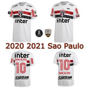 2020 2021 ساو باولو نادي كرة القدم جيرسي 20 21 ساو باولو باتو بابلو داني ألفيس خوانفران ANTONY رينالدو المنزل بعيدا قميص 3RD كرة القدم
