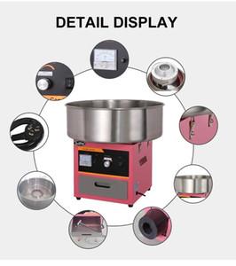 110 V 220 V 1030 W elektrikli ısıtma pamuk şeker yapma makinesi Pamuk Kolay Kullanım ticari hatmi yapma makinesi şeker ıpi makinesi