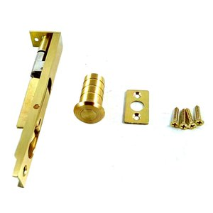 6inch Luxury Brass Door Bolt Latch Lever Action Flush Slide Door Lock Bolt