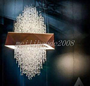 Lustre postmoderne villa chambre chambre chambre salon duplex bâtiment nordique minimaliste moderne modèle moderne maison pendentif lumières pendentif