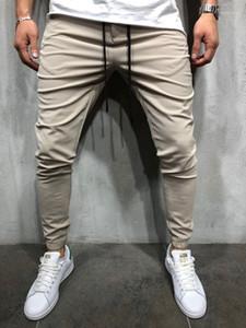 For Male Casual Loose Pants Spring Autumn Fashion Trousers Elastic Waist Pencil Pants Capris Track Pants
