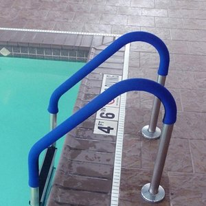 Blue Grip For Pool Handrails, Hand Grips,Swimming Pool Grip Accessories Other Housekeeping Organization