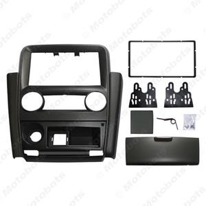Car 2Din Radio Fascia Frame for Mistubishi V3 Lingyue Stereo DVD Audio Panel Dash Installation Trim Kit #1579