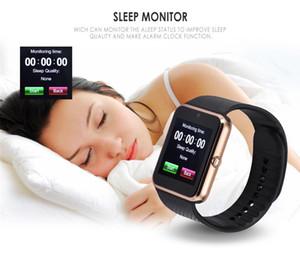 Montres pas cher à puce Sport Montre GT08 montre Smart Watch Smartwatch Bluetooth Sweatproof téléphone à écran tactile avec caméra pour enfants Filles Garçons Hommes Femmes