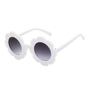 2019 لطيف لعب أطفال الصيف عباد الشمس النظارات الشمسية ANTI-UV حماية عاكس نظارات الاطفال 5 ألوان الإطار النظارات الشمسية