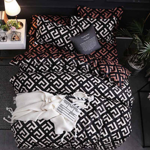 2019 New Luxury Beding 이불 Cover 침대 시트 베갯잇 침구 침구 Set 침대 린넨 홈 섬유 3 개