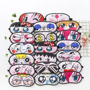 XEONGKVI coreano Cute Cartoon sonno Shading Eye Mask SpringAutumn Marca Applicare Eliminare Cotone donne uomini Eye Strain Blinder