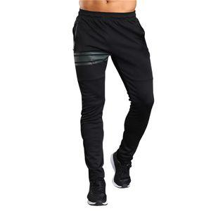 Otoño Correr Correr Pantalones Hombre Deporte Joggers ejercicio de rayas pantalones de gimnasia pantalones de entrenamiento atlético Ocio Fitnesss Sweatpants