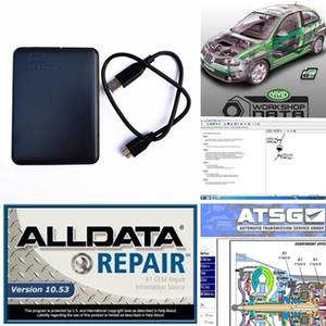 2019 Alldata auto Repair Software all data v10. 53 +atsg+Vivid workshop с технической поддержкой для легковых и грузовых автомобилей 3in1 с 750 ГБ