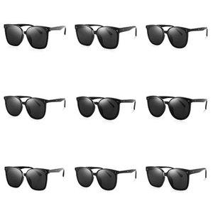 Nova 2020 Moda Steampunk Óculos Mulheres Homens Marca Designer Clip On Sunglasse do espelho Zonnebril Mannen UV400 Y23 # 740