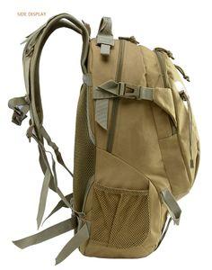 Холст Альпинизма конструкторов-Man Рюкзак Мужской Bucket путешествия плечо сумка Tactical Military Canvas Рюкзаки для путешествий Туризм Спорт