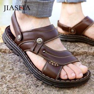 2020 Men Sandals Summer Shoes Slippers Soft Men Flats Sandals Casual Shoes Comfortable Classic Sandalias Zapatos De Hombre