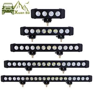 "XuanBa 10W / Pcs 9 "" 16 "" 31 "" 45 "" Led Light Bar Offroad 4x4 Car External Light SUV"