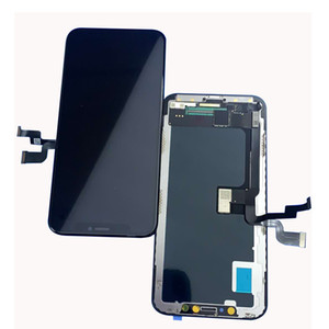New arrived LCD screen for iphone x to replace damaged screen perfectly fir high bright 3D touch free shipping by dhl