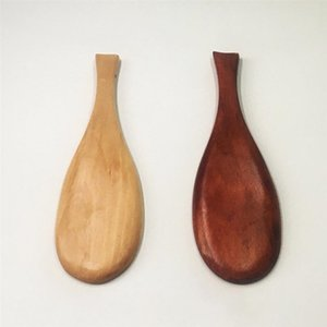 Деревянная ложка риса форме рыбы из натурального дерева Cooking Spoon Кухонные аксессуары Dining UTENSIL Другое Кухня Столовая Бар