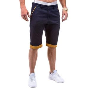 Designer Relaxed Estate Pantaloni Cortos Wash Woven Tooling Pantaloncini Uomo Moda Solid Zipper Fly Shorts Mens