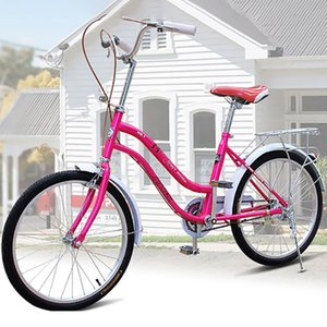 light quality carbon steel material 22 inch ladies city bike