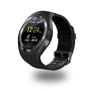Y1 Smart Watchs Round Support Nano SIM &TF Card With Whatsapp And Facebook Men Women Business Smartwatch For Android Phone (Retail)
