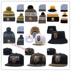 Vegas Golden Knights Snapback Caps justierbarer Hut Vegas Golden Knights Wollmütze Caps Beanies