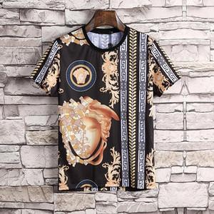Men's designer T-shirt luxury new brand designer short sleeve fashion print top casual outdoor clothes 2020 summer color black white M-3XL