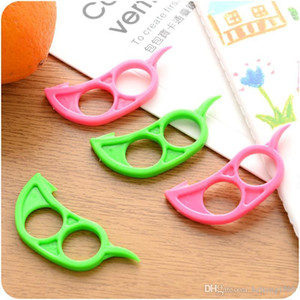 New Creative Orange Peeler Green Fruit Slicer Opener Cutter Mini Easy To Use Kitchen Essential High Quality 0 2zz