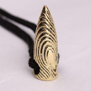 1 pcs ancien argent or balle charmes pendentif collier pour hommes collier pendentif bijoux avec chaîne de corde fraîche film collier de mode