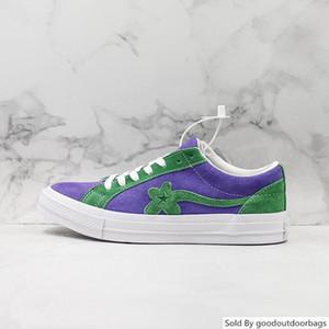 Tyler, The Creator X One Ox Golf Le Fleur Diseñadores zapatillas de deporte casuales zapatos de skate Deporte Hombres Mujeres