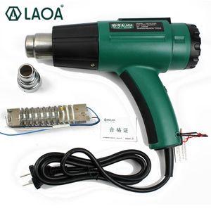 LAOA 1600W pistola ad aria calda lunga durata temperatura della colla di calore Heat Gun calda / pistola regolabile