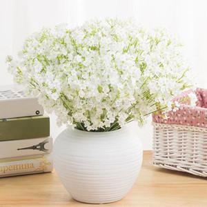 Artificial Flowers 2 forked stars Gypsophila Fake Silk Flower Plant Home Wedding Party Wedding Decoration Supplies Silk flower HH9-2261