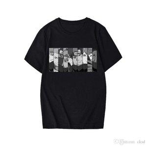 Hombre del diseñador de camisetas Naruto verano Harajuku unisex fresco camiseta de manga corta japonesa animado divertido Impreso Streetwear camiseta CX2MC50